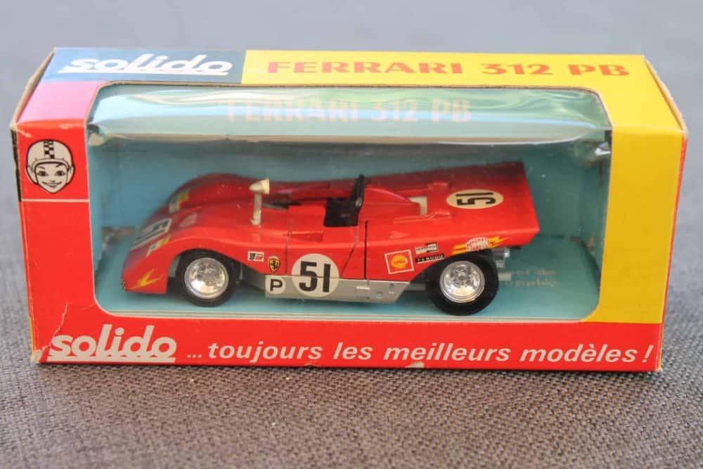 Solido Toys 194 Ferrari 312 PB