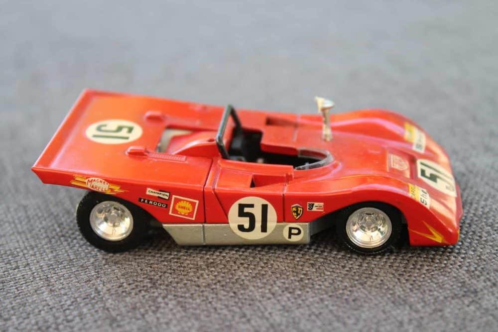 Solido Toys 194 Ferrari 312 PB-rightside