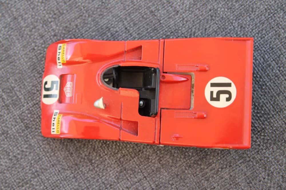 Solido Toys 194 Ferrari 312 PB-top