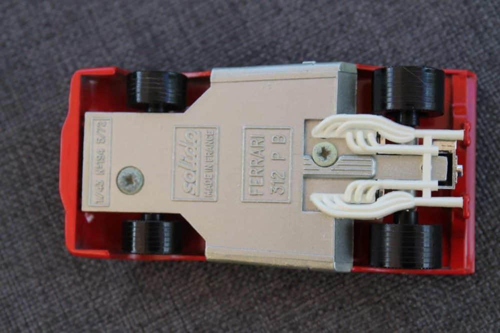 Solido Toys 194 Ferrari 312 PB-base