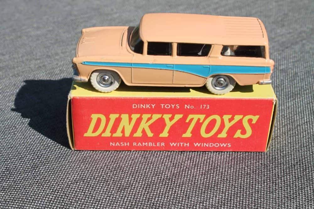 Dinky Toys 173 Nash Rambler Silver Spun Wheels