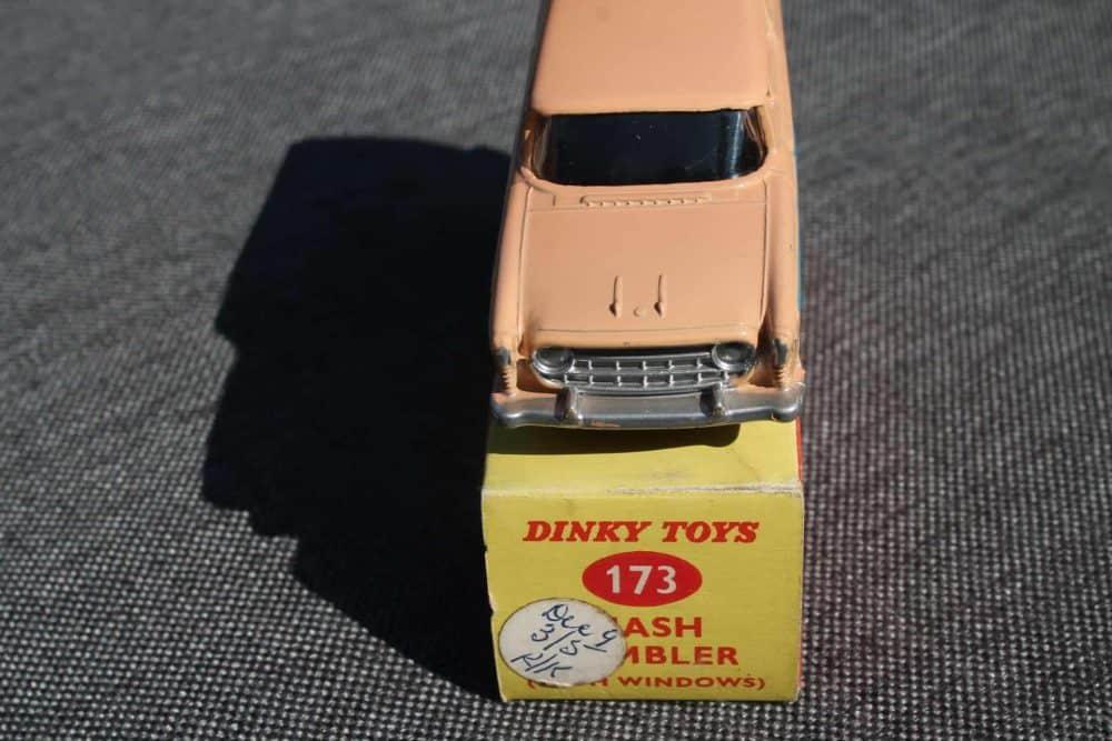 Dinky Toys 173 Nash Rambler Silver Spun Wheels-front