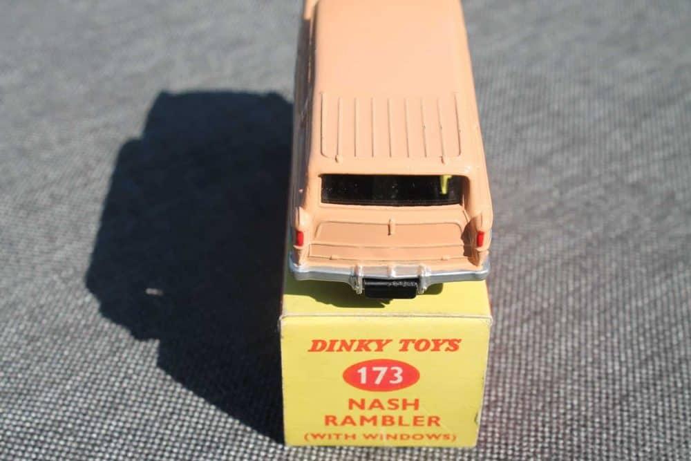Dinky Toys 173 Nash Rambler Silver Spun Wheels-back