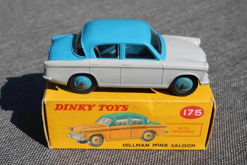 Dinky Toys 175 Hillman Minx-side