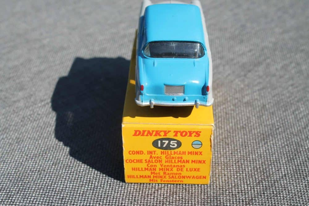 Dinky Toys 175 Hillman Minx-back