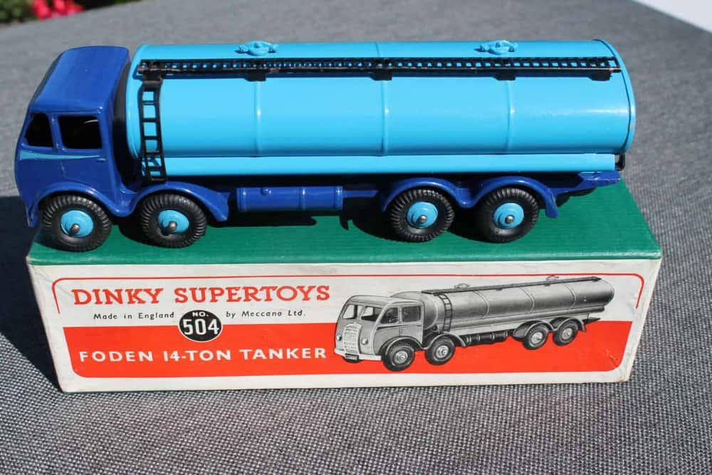 Dinky Toys 504 1st Cab Foden Tanker