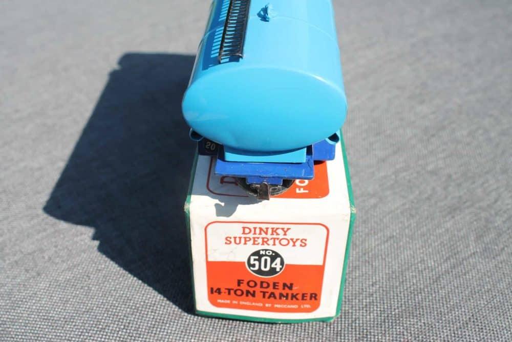 Dinky Toys 504 1st Cab Foden Tanker-back