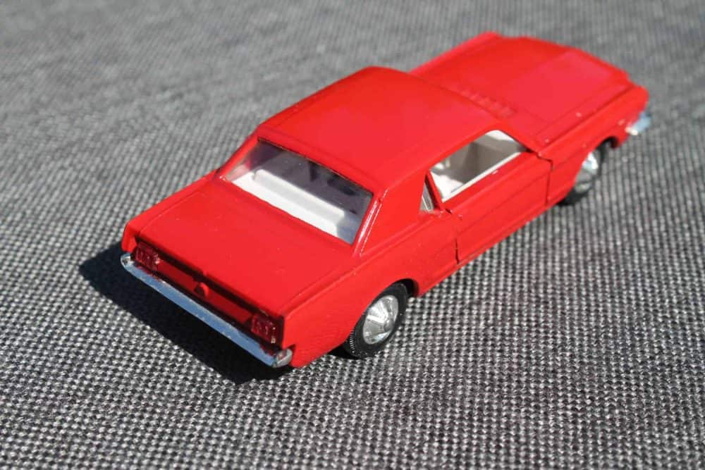 Solido Toys 147 Ford Mustang with Interior Light-backright