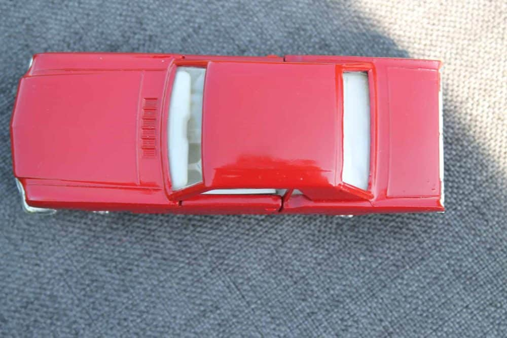 Solido Toys 147 Ford Mustang with Interior Light-top