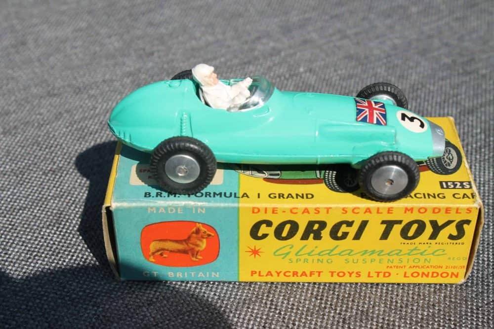 Corgi Toys 152S B.R.M. Formula 1 Grand Prix-side