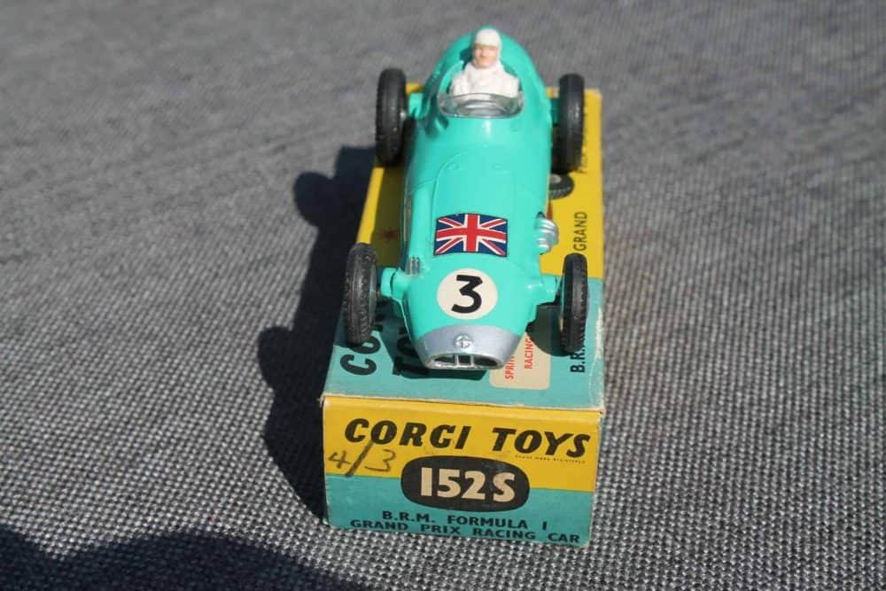 Corgi Toys 152S B.R.M. Formula 1 Grand Prix-front