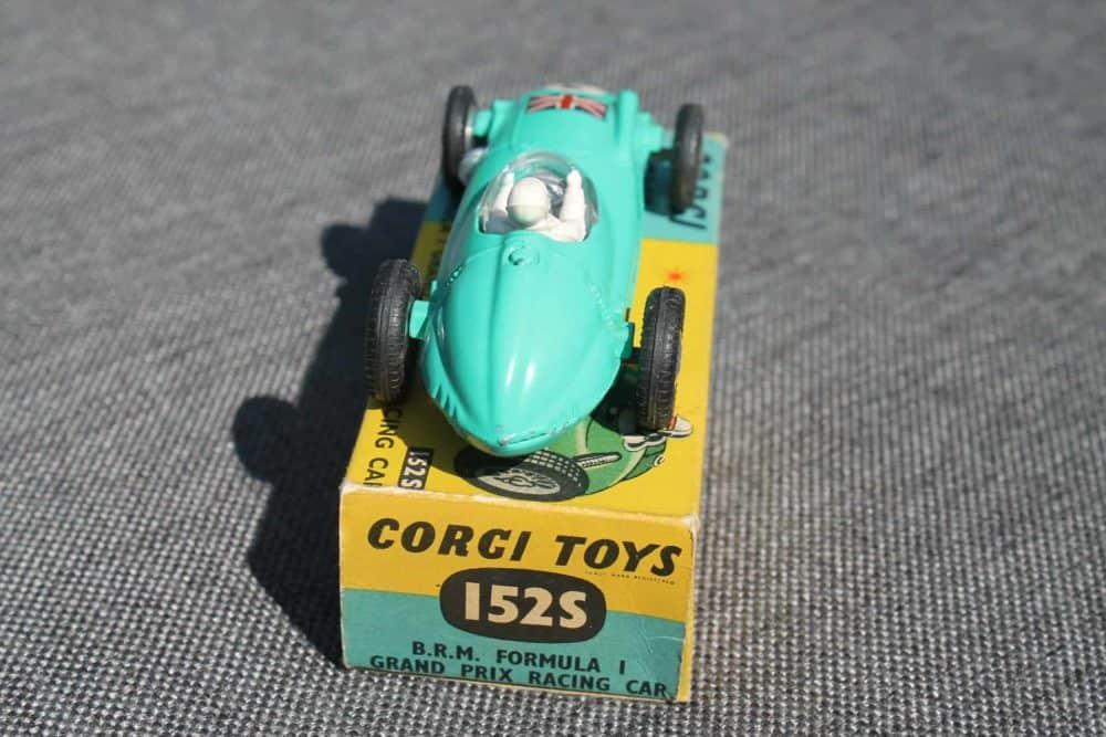 Corgi Toys 152S B.R.M. Formula 1 Grand Prix-back