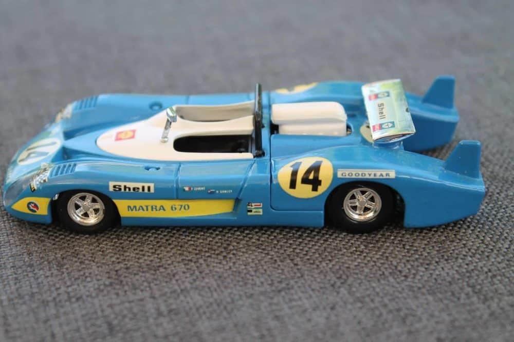 Solido Toys 014 Matra 670-leftside