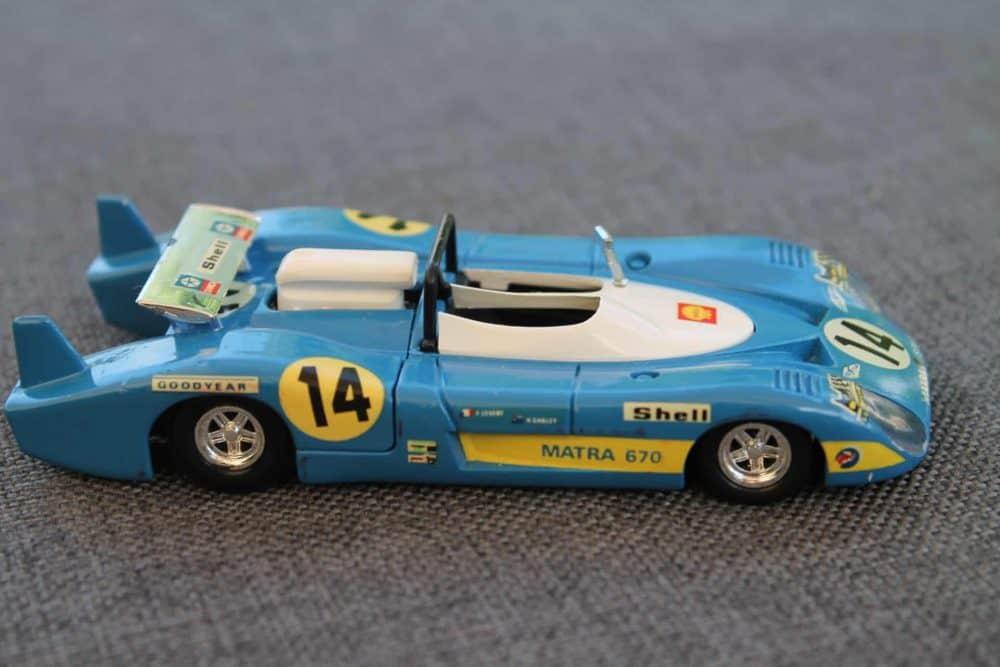 Solido Toys 014 Matra 670-rightside