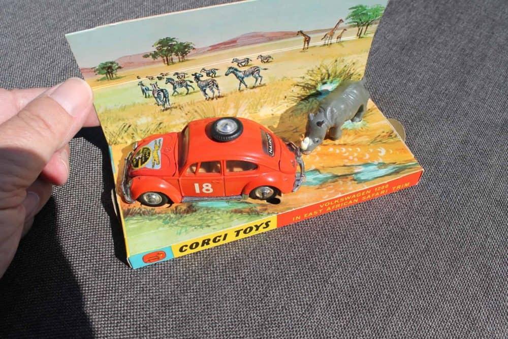 Corgi Toys 256 Volkswagen 1200 'East African Safari'
