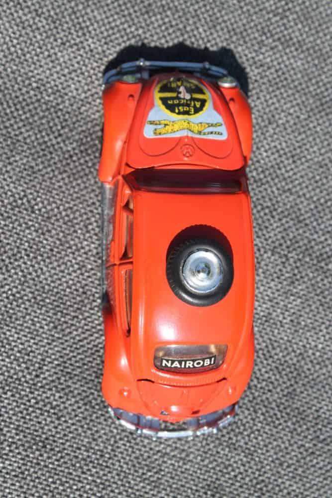 Corgi Toys 256 Volkswagen 1200 'East African Safari'-top